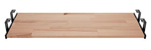 FIX&EASY Guías con bandeja 800X300mm haya madera maciza,