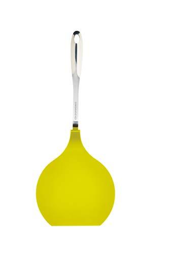 Colourworks Jumbo-Pfannenwender mit Nylonschaufel, 40,5 cm – Grün