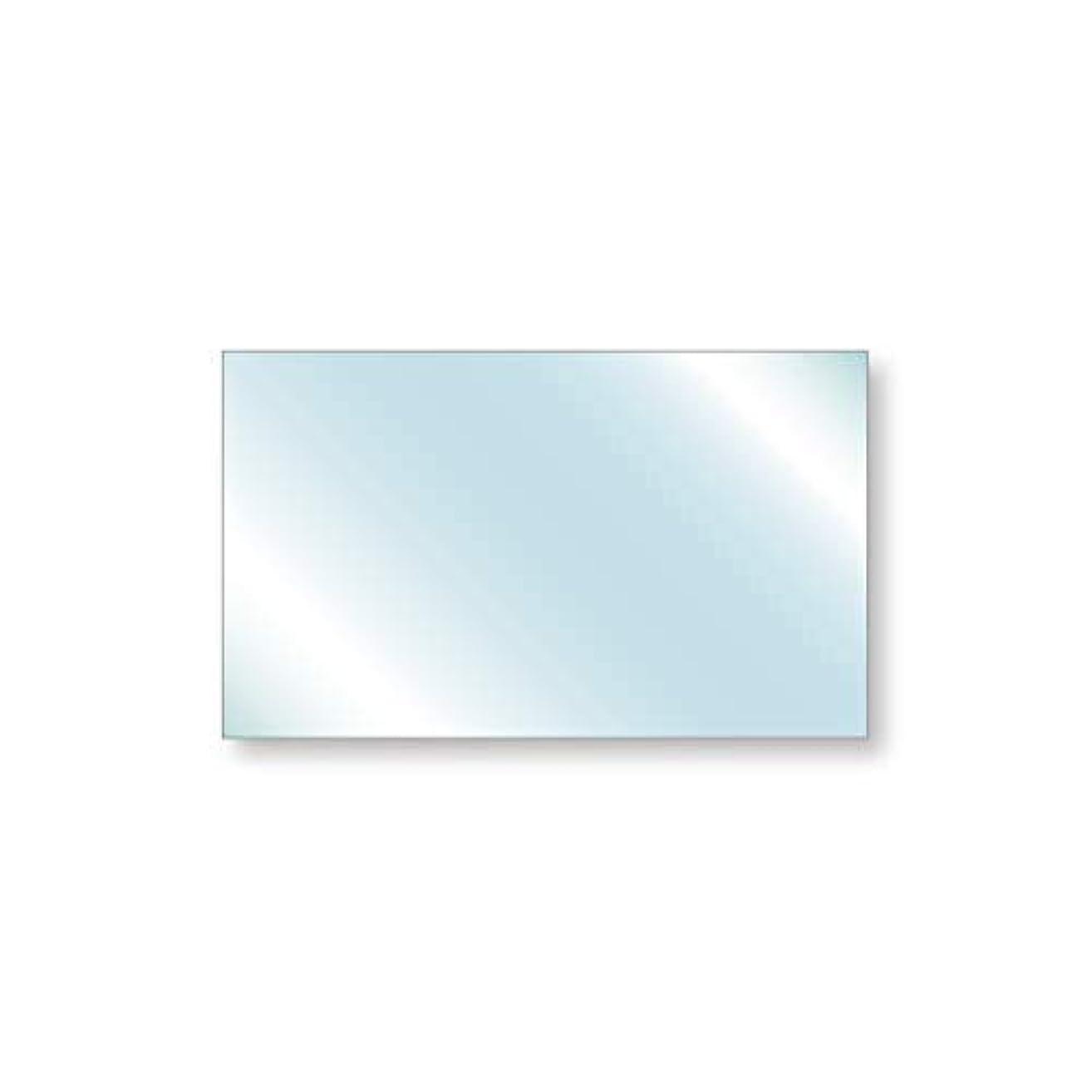 倒産適格ハイライト無反射ガラス 反射防止ガラス(ノングレアS) 厚み2mm 500×300mm 四角形 糸面取り加工 サイズオーダー対応