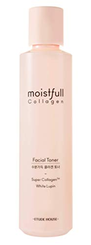 ETUDE HOUSE Moistfull Collagen Toner (Renewal) | Water Essence Type Toner to Hydrate and Keep Your Skin Moistured