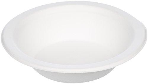 Amazon Basics Einweg-Suppenschüsseln, umweltfreundlich, kompostierbar und biologisch abbaubar, 355 ml, 125 Stück