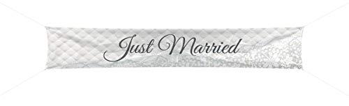 Creative Bannière Just Married 3,6 m x 60 cm
