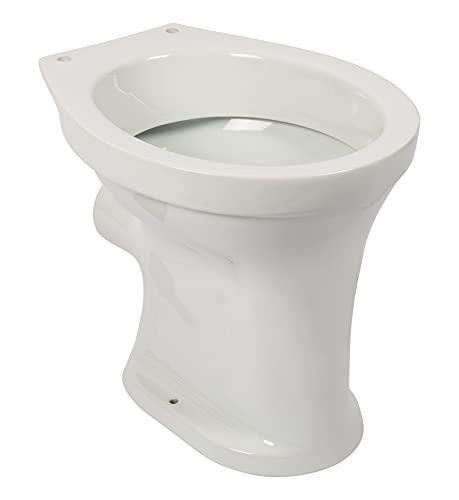 Stand-WC Euro, Flachspüler, Abgang waagerecht, Ägäis