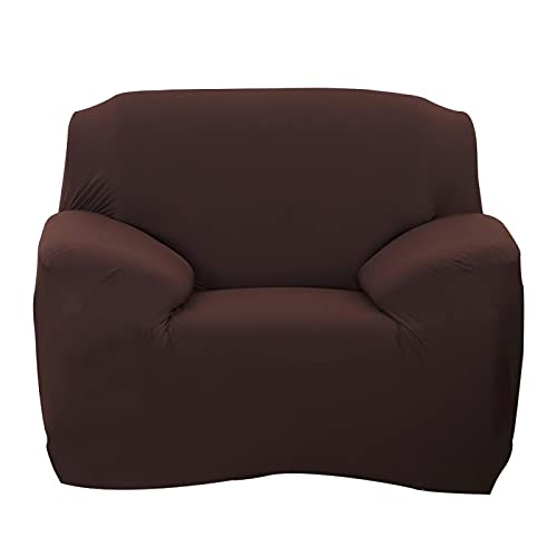 Astibym Schonbezug hautfreundlich atmungsaktiv Wohnzimmer Schlafzimmer für den Haushalt Leben Kaffee(Single seat 90-140cm)