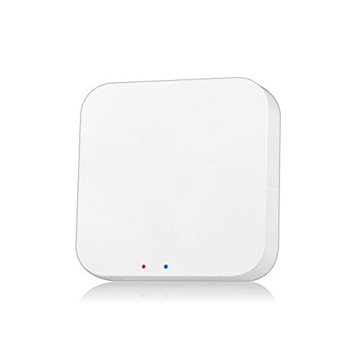 OWSOO Smart Gateway Hub Tuya ZigBee Smart Home-Brücke Tuya/Smart Life APP Wireless-Fernbedienung für alle Tuya ZigBee 3.0 Smart-Produkte