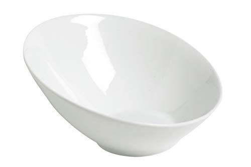 Cosy&Trendy HB0033 - Ensaladera para pasta (19 cm), color blanco