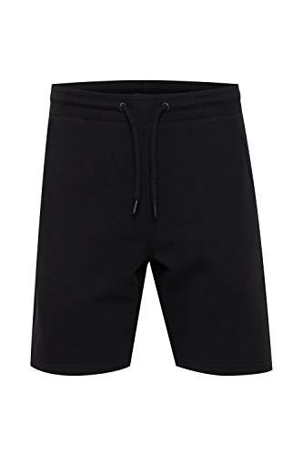Indicode Kennan - Pantalones cortos de chándal para hombre con cordón Negro (999) L