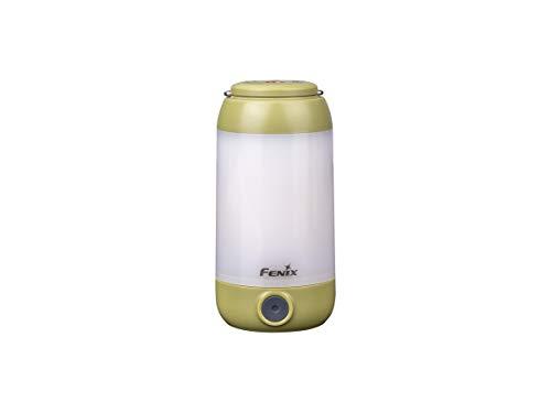 Fenix CL26R - Lámpara LED para Camping (400 lúmenes), Color Verde