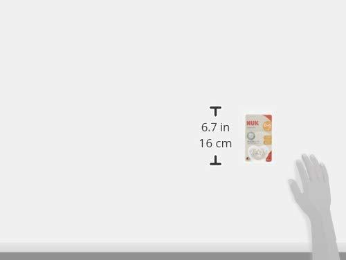 NUKヌークおしゃぶりキャップ付[手指なめ防止に]きれいな歯並びのためにジーニアスフクロウ新生児0-6ヵ月0か月~OCNK40101234