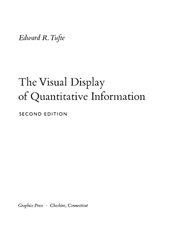 The Visual Display of Quantitative Information (English Edition)