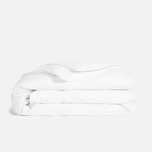 1000 Thread Count White Queen Duvet Cover Set, 100% Long Staple Egyptian Cotton Quilt Cover Queen/Full Size, Silky Soft, Breathable with Hidden Zipper Closure.