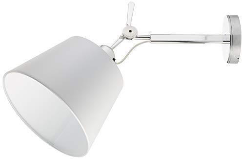 Artemide Tolomeo wandlamp Diffusore 24, lampenkap pergament