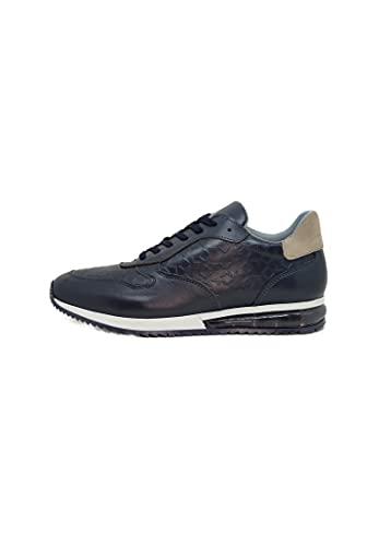 scarpe uomo alviero martini ALV by ALVIERO MARTINI - Sneakers in Pelle da Uomo (EU 42)