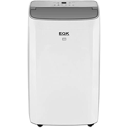 Emerson Quiet Kool 4 in 1 Portable Air Conditioner, Dehumidifier, Fan and Heater with Remote Control, Cooling and Heating for All Seasons, for Rooms up to 550-Sq. Ft. EAPH10RC1, 28.400, White