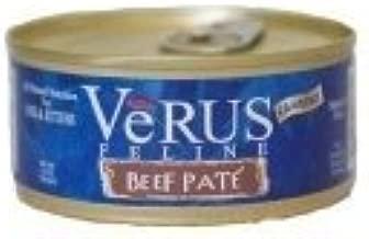 VeRUS Grain Free Beef Pate Cat Cans 5.5oz (24 in case)