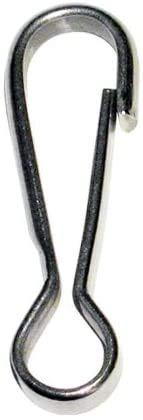 Mousqueton simple 60mm AISI 304