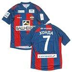 2011-12 CSKAモスクワ ホーム半袖 ユニフォーム #7 HONDA (本田圭佑)