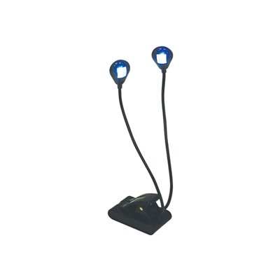 SOUNDLAB LED Twin Stand/Night Light with Clip