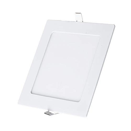 Pinjeer 18W / 24W führte quadratisch eingelassene ultradünne weiße Downlights-moderne einfache Aluminium-hohe Kriteriumbezogene Anweisung 80 + Deckenverkleidungs-Lampen Market Store-helle Scheinwerfer