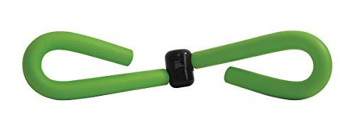 Schildkröt Fitness Unisex– Erwachsene Leg Trainer, Oberschenkeltrainer, Grün-Schwarz, in 4-Farb Karton, 960046 Beintrainer