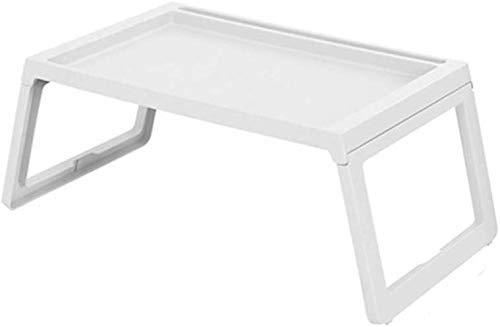 Tisch Klappbett Schreibtisch Notebookständer Multifunktions-Computer-Beistelltisch Studentenwohnheim Faule Tischgestell 56x36x26cm Einfach zu installieren