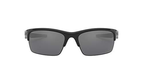 Oakley - Gafas de sol Rectangulares Bottle Rocket 9164, POLISHED BLACK/BLACK IRIDIUM POLARIZED