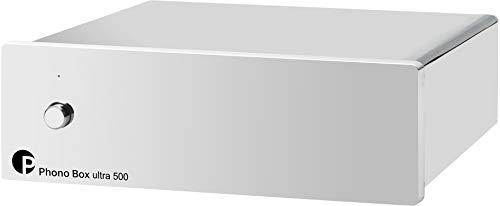 For Sale! Pro-Ject Phono Box Ultra 500 Discrete MM/MC Phono Preamplifier Chrome