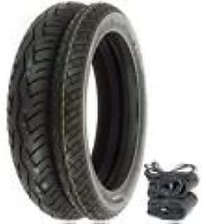 Bridgestone BT-45 Tire Set - Compatible with Honda CB350/360/400F CL/CJ360 - Tires Tubes and Rim Strips