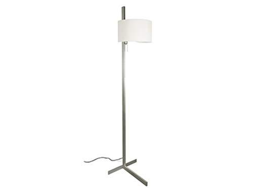 Faro Barcelona - STAND UP Pie de salón - Aluminio y blanco