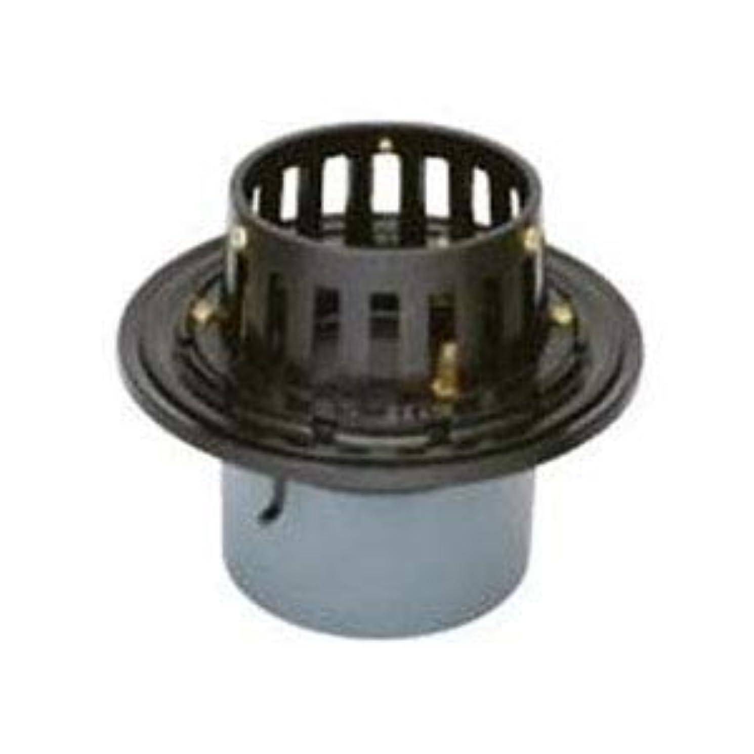 責めるデモンストレーションボーダーカネソウ 鋳鉄製ルーフドレイン たて引き用 打込型 バルコニー中継用(呼称75) ESB-2-75