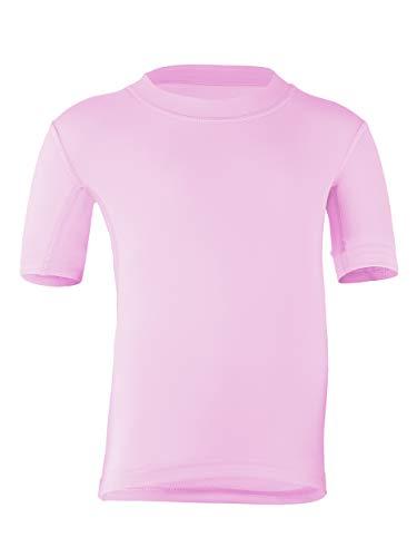 hyphen med BABY UV-Schutzkleidung (Sonnenschutz-Faktor 80) Kurzarmshirt cameo rose (92/98)