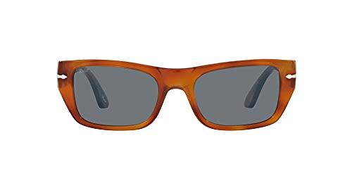 Persol Gafas de sol rectangulares Po3268s, Terra Di Siena,