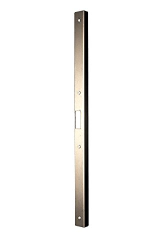Fix-A-Jamb Door Jamb Security Reinforcement and Frame Repair Kit for Interiors – Satin Nickel