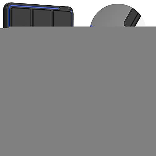 Zhouzl Funda para Tableta Galaxy Acrílico TPU Horizontal Flip Funda de Cuero Inteligente con Trimembración Soporte y la Ranura de la Pluma y de Despertador Función/sueño Funda para Tableta Galaxy