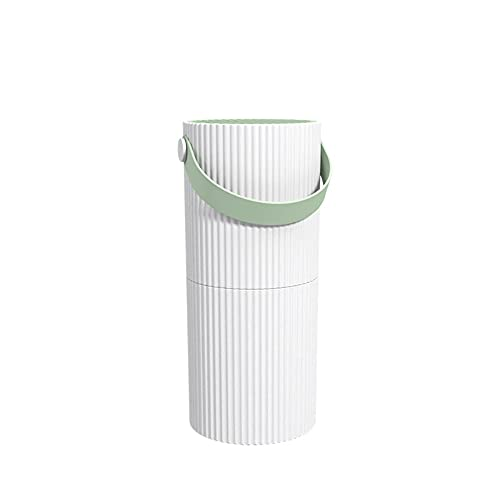 Akin Purificatore d'aria casa, H11 True HEPA Filtro Air Cleaner, Generatore ioni negativi fino 11 m², 6000 giri/min, filtro dell'aria silenzioso rimuove il 99,57% polvere fumo e allergeni 0,3 micron