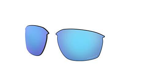 Oakley AOO9414LS Sliver Edge Sport Replacement Sunglass Lenses, Prizm Sapphire Iridium Polarized, 63 mm