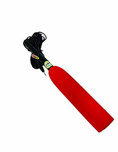 WON News Reporting Mobile mic Journalist/Youtubers mic for Android red Color
