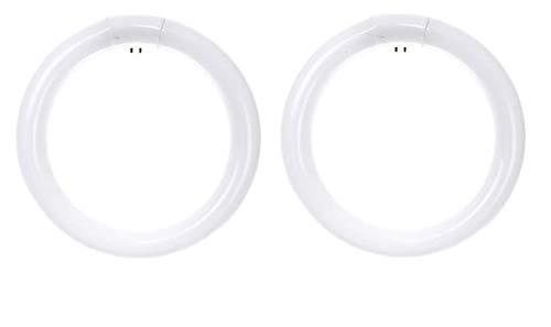 Ciata FCL30/30K Fluorescent T9 Circline Ceiling Light Bulb, 30 Watt, 3000K - 2 Pack