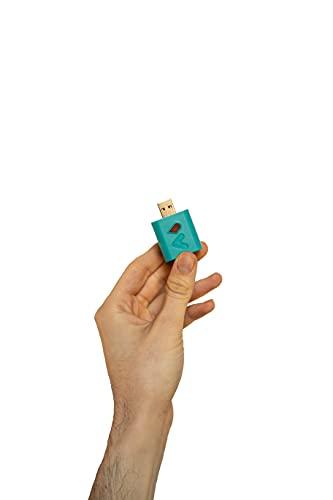 Witty Battery Saver, Colore Turchese, Raddoppia la vita della batteria del tuo Smartphone, compatibile con Android, Iphone, iPad, Smartwatch, Samsung, Tablet, Huawei, USB