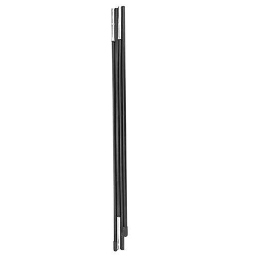 YIFengFurun Poste de tienda de campaña, resistente al calor, resistente al calor, de fibra de vidrio, plegable, para reemplazar postes rotos o dañados