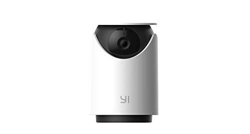Telecamera Interno WIFI,YI Dome U 3MP Videocamera Sorveglianza per Sicurezza Rilevamento Sonoro/Umano/Movimento con Intelligenza Artificiale,Audio Bidirezionale,Compatibile con Alex