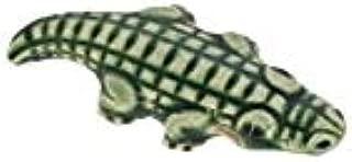 Alligator Glazed Ceramic Beads for Jewelry Designs & Gator Fans