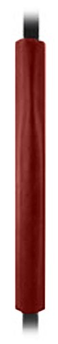 First Team FT75 Foam-Vinyl Premium Pole Pad for 4 & 5 in. Square Poles44; Maroon
