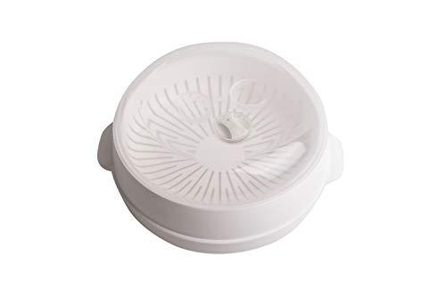 Candy Vaporera Universal para Horno Microondas (Diámetro 20cm)