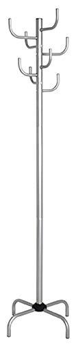 Haku Möbel Perchero - guardarropa 8 de metal con ganchos, altura 180 cm