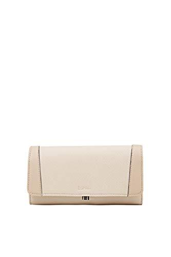 Esprit Accessoires Damen 020EA1V301 Geldbörse, Beige (Beige 295), 9X19