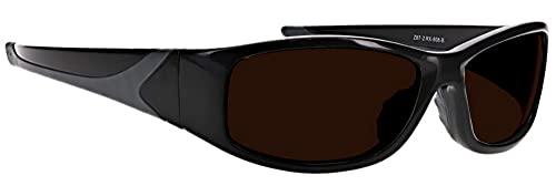 Laser Safety Glasses with IPL Brown Contrast Enhancement - Model 808 BK