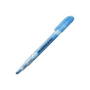 ( お徳用 300セット ) ZEBRA ゼブラ 蛍光ペン 蛍光オプテックス1 EZ 【青】 つめ替え式 WKS11-BL