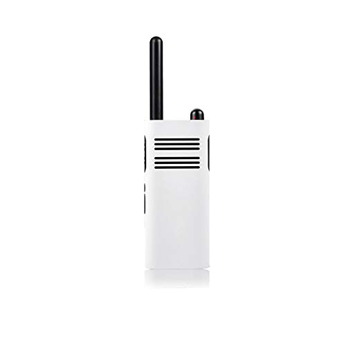 TANGTANG Portable Radio Transceiver,Smart Walkie Talkie 1-5 Km Call 16 Channel Anti-Jamming Long Standby Handheld Smart Interphone,White
