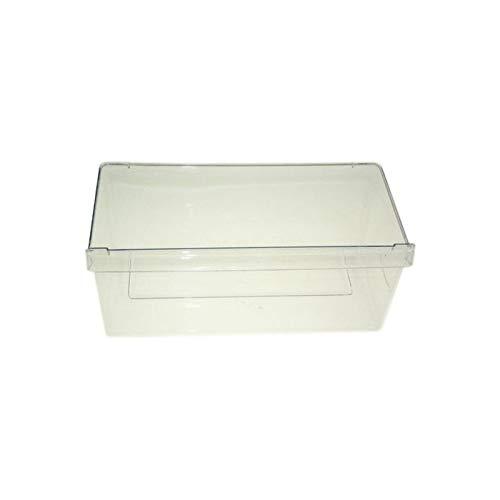 480132101015 - Cassetto da frigorifero per le verdure, 44,5 x 20,5 x 25,0 cm, per frigoriferi Bauknecht, Whirlpool, Ikea